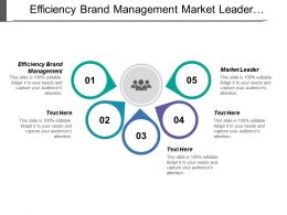 Efficiency Brand Management Market Leader Strategic Initiatives Market Understanding