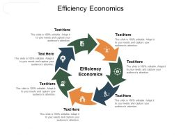 Efficiency Economics Ppt Powerpoint Presentation Slides Smartart Cpb