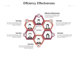 Efficiency Effectiveness Ppt Powerpoint Presentation File Guide Cpb