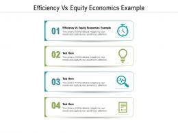 Efficiency Vs Equity Economics Example Ppt Powerpoint Presentation Portfolio Files Cpb
