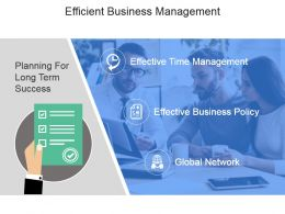 Efficient Business Management Powerpoint Slide Background Image
