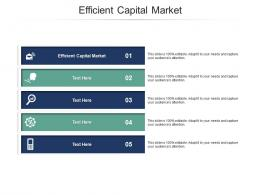 Efficient Capital Market Ppt Powerpoint Presentation Icon Shapes Cpb