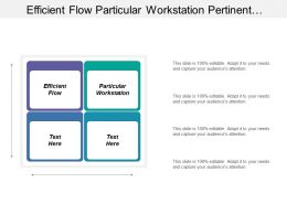 Efficient Flow Particular Workstation Pertinent Information Specific Topic