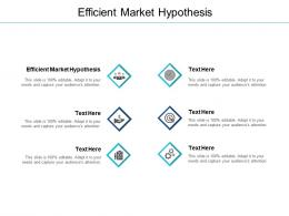 Efficient Market Hypothesis Ppt Powerpoint Presentation Outline Example Cpb