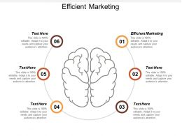 Efficient Marketing Ppt Powerpoint Presentation Infographic Template Samples Cpb