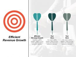 Efficient Revenue Growth Ppt Powerpoint Presentation Infographics Graphic Tips Cpb