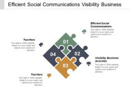 Efficient Social Communications Visibility Business Activities Brand Expansion Cpb