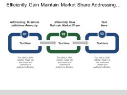 Efficiently Gain Maintain Market Share Addressing E Business Initiatives Promptly