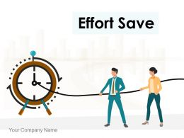 Effort Save Finance Management Project Execution Strength Technique