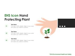 EHS Icon Hand Protecting Plant