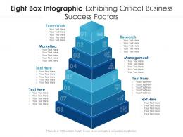 Eight Box Infographic Exhibiting Critical Business Success Factors