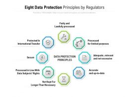 Eight Data Protection Principles By Regulators