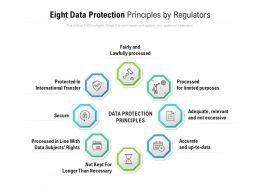 Eight Data Protection Principles By Regulators