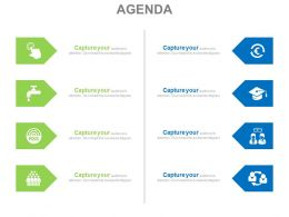 eight_different_education_and_nature_related_agenda_diagram_powerpoint_slides_Slide01