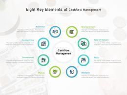 Eight Key Elements Of Cashflow Management