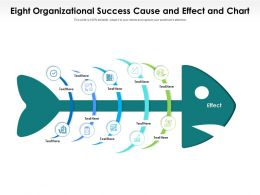 Eight Organizational Success Cause And Effect And Chart