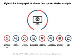 Eight Point Infographic Business Description Market Analysis