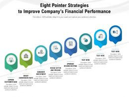 Eight Pointer Strategies To Improve Companys Financial Performance