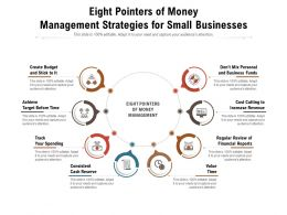 Eight Pointers Of Money Management Strategies For Small Businesses
