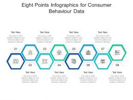 Eight Points For Consumer Behaviour Data Infographic Template