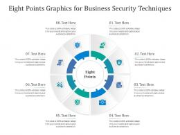 Eight Points Graphics For Business Security Techniques Infographic Template