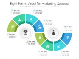 Eight Points Visual For Marketing Success Infographic Template