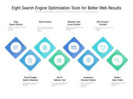 Eight Search Engine Optimization Tools For Better Web Results