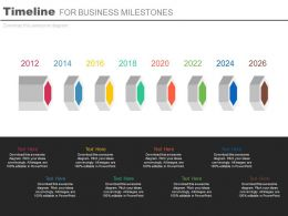 eight_staged_linear_timeline_for_business_milestones_powerpoint_slides_Slide01