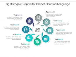 Eight Stages Graphic For Object Oriented Language Infographic Template