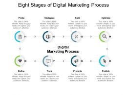 Eight Stages Of Digital Marketing Process