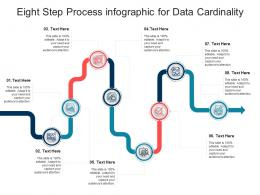Eight Step Process For Data Cardinality Infographic Template