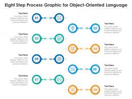 Eight Step Process Graphic For Object Oriented Language Infographic Template