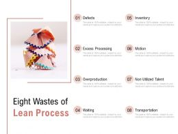 Eight Wastes Of Lean Process