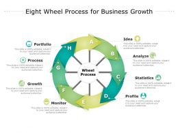 Eight Wheel Process For Business Growth