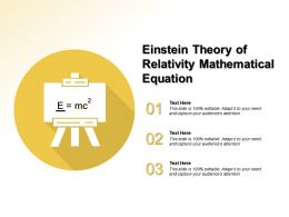 Einstein Theory Of Relativity Mathematical Equation