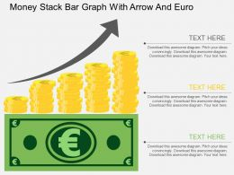 ej_money_stack_bar_graph_with_arrow_and_euro_flat_powerpoint_design_Slide01