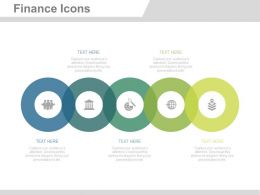 ej Six Staged Finance Icons For Process Control Flat Powerpoint Design