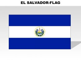 El Salvador Country Powerpoint Flags