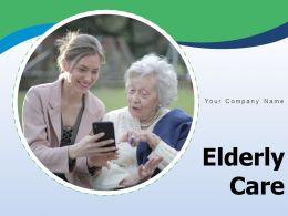 Elderly Care Silhouette Wheelchair Taking Patient Health