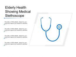 elderly_health_showing_medical_stethoscope_Slide01