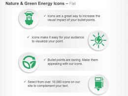 Electric Charging Station Solar Energy Sustainability Petrol Pump Ppt Icons Graphics