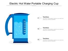 Electric Hot Water Portable Charging Cup