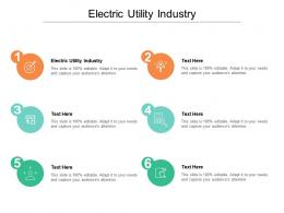 Electric Utility Industry Ppt Powerpoint Presentation Professional Template Cpb