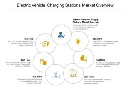 Electric Vehicle Charging Stations Market Overview Ppt Powerpoint Presentation Pictures Cpb