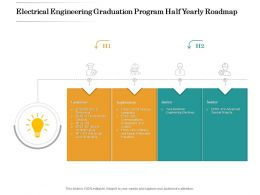 Electrical Engineering Graduation Program Half Yearly Roadmap