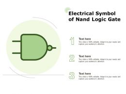 Electrical Symbol Of Nand Logic Gate
