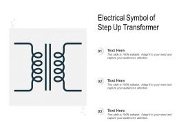 Electrical Symbol Of Step Up Transformer