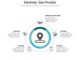 Electricity Gas Provider Ppt Powerpoint Presentation Portfolio Objects Cpb