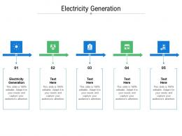 Electricity Generation Ppt Powerpoint Presentation Inspiration Rules Cpb