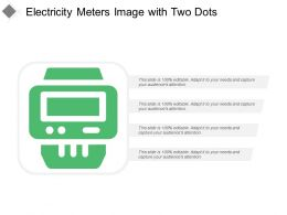 Electricity Meters Image With Two Dots